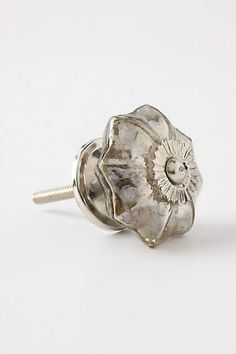 THESE HAVE GREAT REVIEWS....   Mercury Glass Melon Knob - anthropologie.com
