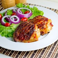 Cherry Bomb Chicken recipe