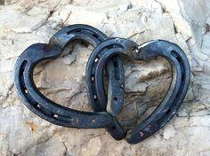 Einzelne Hufeisen Herz von HorseshoeHearts auf Etsy