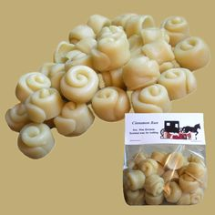 CINNAMON BUN Wax Melts Wax Tarts Scented Embeds by soyNsuds