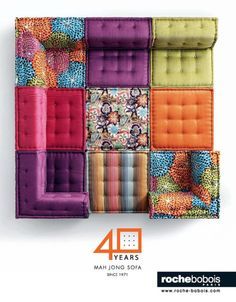 Mah Jong Sofa - roche bobois  ONE GIANT PLAYPEN.  AWESOME.