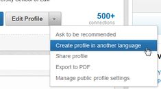Creating a Secondary Language Profile in LinkedIn® | The Essay Expert Blog