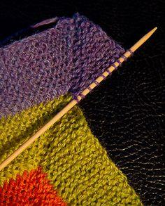 Ten-Stitch-Blanket / Zehn-Maschen-Decke |
