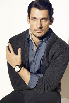 David Gandy for Massimo Dutti March 2013 Lookbook