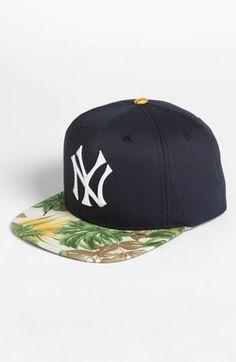 American Needle 'New York Yankees - Visor Trip' Baseball Cap available at #Nordstrom