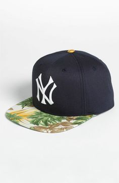 American Needle 'New York Yankees - Visor Trip' Baseball Cap | Nordstrom - very cool way to spice up a plain Yankees cap