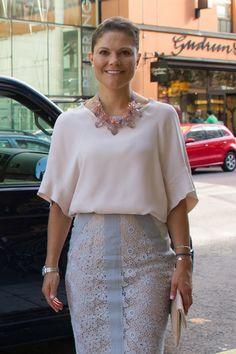 Crown Princess Victoria of Sweden 9/4/2014