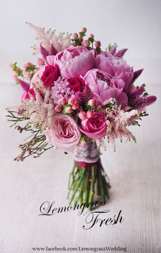 Pink peony wedding bouquet How to Have the Bride Arrangement and Lick Boutonniere Harmony? Peony Bouquet Wedding, Summer Wedding Bouquets, Peonies Bouquet, Pink Bouquet, Diy Wedding Flowers, Bridal Flowers, Floral Wedding, Pink Peonies, Wedding Summer