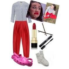 Image result for haters back off red pants