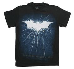 Dark Knight Rises Movie Poster T-Shirt Front