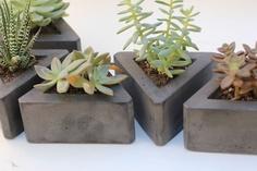 Triangle Concrete Pot
