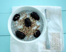 Chia seed pudding recipe (Vegan)