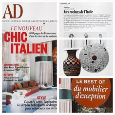 [ 🌟 Focus presse 🌟 ] ma marque italienne adorée dont je vous parle depuis 2015 est ce mois dans AD France spécial ( chic italien ). BRAVO mes chers Kiasmo 🔝👌💖 - #admagazine #kiasmo #luxedesign #art #archilover #vincenzodalba #interior #designer #luxury #presse #artdecor #inspiration #contemporary #decolovers #interiordesigner #ceramique #designaddict #dishes #madeinitaly #decoration #chic #design #blogdeco #ceramic #decorationideas #styling #decorating #modernart @kiasmopinterest