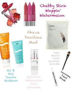 My last cosmetic shopping on www.skinpearls.net