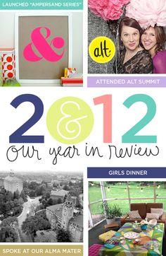 Ampersand Design Studio 2012 in review