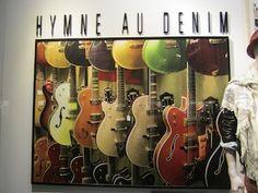 Printemps, denim department promotion, Paris