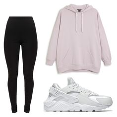 """""""Untitled #6"""" by leonarosado on Polyvore featuring Monki and NIKE"""