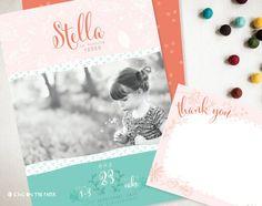 Summer Flowers Birthday Invitation  Printable  by icingonthepaper, $1.50