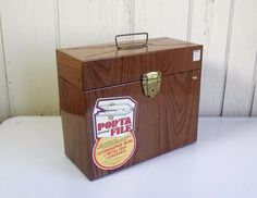 Vintage Ballonoff Porta File with KEY by PansyRoadVintage on Etsy