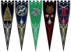 often emblazoned with national animals. Fantasy Armor, Fantasy Weapons, Dark Fantasy, Flag Game, Epic Art, Medieval Art, Dnd Characters, Flag Design, Coat Of Arms