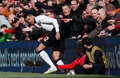 Liverpool v Manchester United – Smalling v. Balotelli