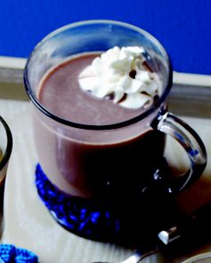 Drury Sleigh Ride: 1 cup hot chocolate, ½ shot crème de menthe, ½ shot Ryan's Irish Style Cream Liqueur and whipped cream, for garnish.  Combine ingredients and serve in a mug topped with whipped cream. From McGillin's Olde Ale House, Philadelphia.