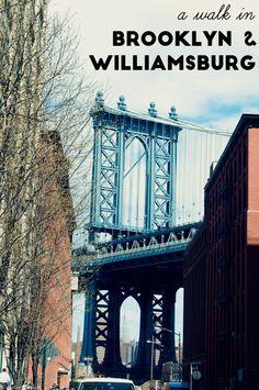 A walk in Brooklyn and Williamsburg, New York City