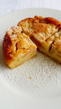 Classic French Apple Cake Food Recipes For Dinner, Food Recipes Keto Apple Cake Recipes, Baking Recipes, Apple Cakes, Gf Recipes, Apple Custard Pie, French Custard Recipe, Ratatouille, French Dessert Recipes, Gourmet