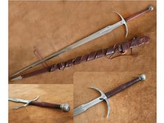 Darksword Armory Two Handed Danish Sword Unsharpened