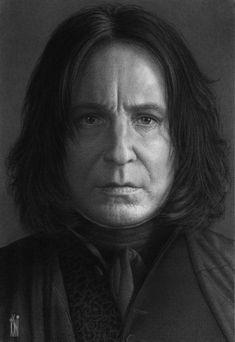 Severus Snape by toniart57.deviantart.com on @deviantART