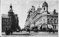 Oxford Street and the Palace Theatre, Mancheste