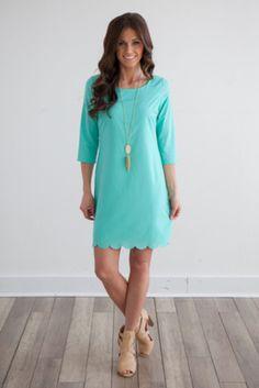 mint Easter dress