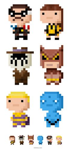 Watchmen pixel art