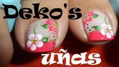 Trabajos de este Spa, que son una obra de arte... Deko's SPA Fall Pedicure, Pedicure Colors, Pedicure Designs, Toe Nail Designs, Manicure And Pedicure, Cute Toe Nails, Toe Nail Art, Pretty Pedicures, Pretty Nails