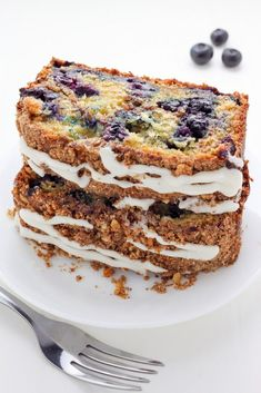 Blueberry Ricotta Crumb Cake —> what a b-e-a-u-t-i-f-u-l sight! Moist and flavorful… loaded with buttery crumbs inside and out … bursting with juicy berries in … Cake Recipes, Dessert Recipes, Brunch Recipes, Breakfast Recipes, Fruit Dessert, Breakfast Dessert, Muffin Recipes, Cheese Recipes, Breakfast Ideas