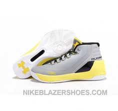 e132df81cf30 Under Armour Stephen Curry 3 Shoes Yellow White Gray Online