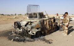 In a lighter note concerningthe fearsome battle for Kirkuk, the hometown of Saddam Hussein, an ISIS suicide vehicle's drivers were the only casualties when Peshmerga fighters used their firepower to activate its explosives from a distance. IJReview reports the details of the incident, with a video of the large and cumbersome video laboring toward its... Read More
