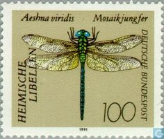 Germany, Federal Republic [DEU] - Dragonflies 1991