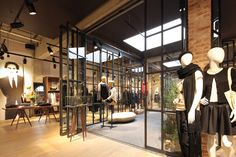 Dusseldorf-based office Reich und Wamser's design for the Esprit Lighthouse store in Cologne