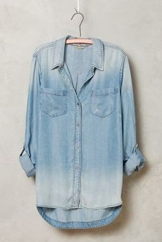 Holding Horses Wind-Washed Chambray Shirt
