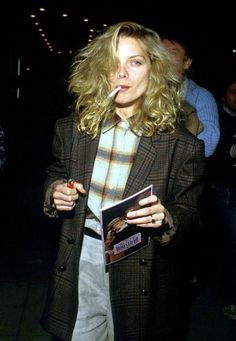vintagesalt: Michelle Pfeiffer photographed by Barry King, 1986