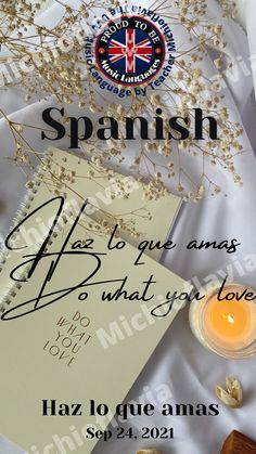 Do what you love - Spanish by The UVV Music Language by Teacher Michioflavia