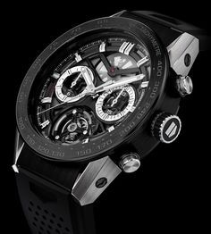 TAG Heuer Carrera Chronograph Tourbillon Watch Will Cost About $15,000 Watch Releases