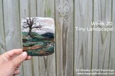 Good Natured: 52 Weeks of Felt Paintings - Week 20
