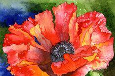 Poppy Painting  - Poppy Fine Art Print