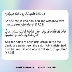 (Article) How Surah Maryam became my Spiritual Epidural during pregnancy – Muslimah Inspirational Network