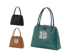 Monogrammed Leather Purse, Monogrammed Purse, Monogram Tote, Personalized Tote