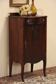Vintage Music Player Cabinet | Vintage music and Paint furniture