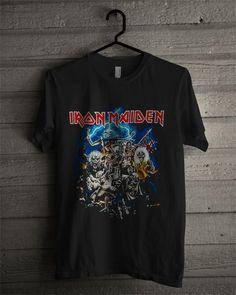 a3e8b324 Vintage Iron Maiden Tee | Tees | Vintage band tees, Rock shirts ...