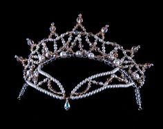 Dance Tiara Crystal Tiara Headpiece for by DazzlenDanceTiaras